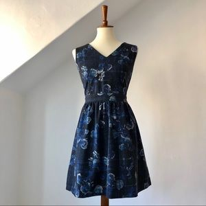 Thakoon for Design Nation Winter Floral Dress